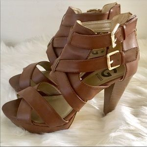 G By Guess Caged Heel
